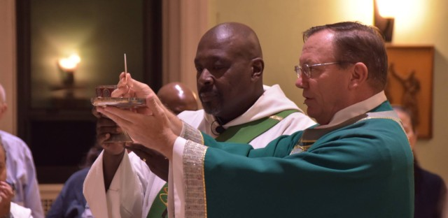 Father John Edmunds is parish priest at St. James Catholic Church in Chicago.