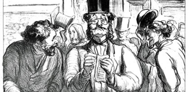 Honore Daumier's 'The Critic'