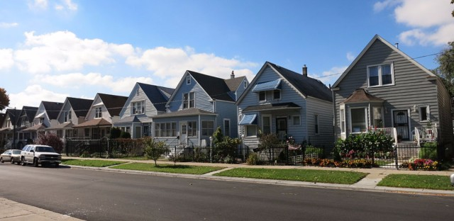 Chicago bungalows in Hermosa.