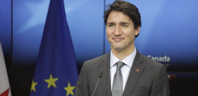 Canadian Prime Minister Justin Trudeau in October 2016.