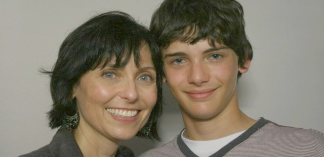 Lynette Bisconti and her son, Frank