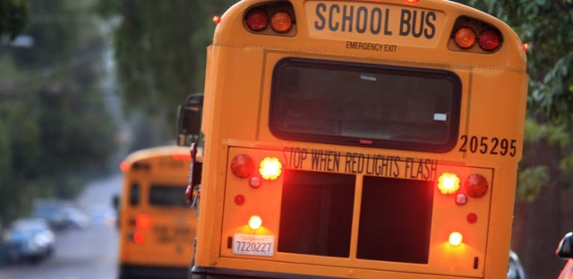 640,000 Los Angeles students were sent home Tuesday morning.