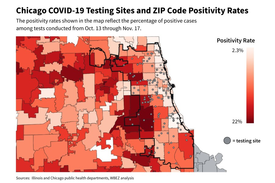 Access To Covid 19 Testing In Illinois Is Unequal Wbez Chicago