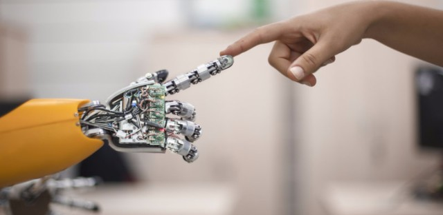 robot human touch