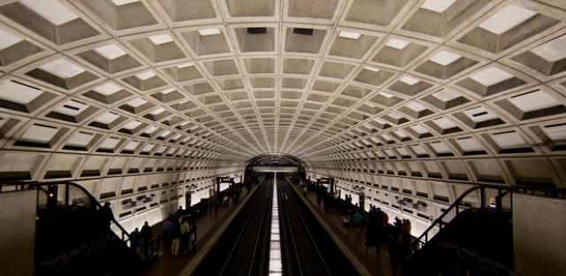 Harry Weese, the architect who designed the Seventeenth Church of Christ, Scientist building, also designed the Washington, D.C. metro stations.