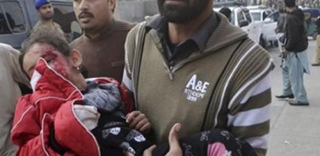 At least 100 children dead in attack on Peshawar school
