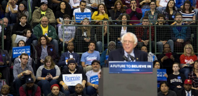 Bernie Sanders at Chicago State University