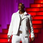 R. Kelly, performing on November 21, 2012 in New York City. The lawyer of a woman accusing Kelly of assault held a press conference on April 18, 2018 in Dallas, Texas, to announce he would be filing a federal civil complaint would be filed against the singer.