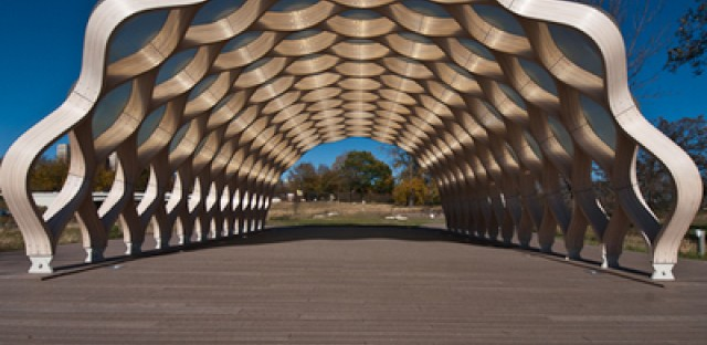 Architecture with animal magnetism: The pavilion at Lincoln Park Zoo