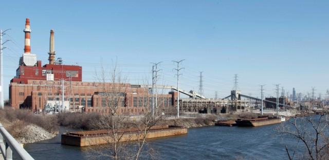 CHICAGO COAL PLANTS