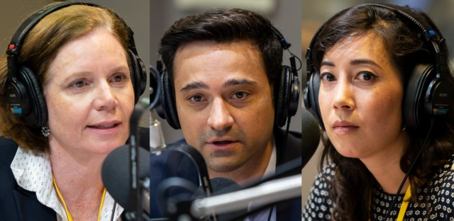 Monica Davey of the New York Times, Paris Schutz of WTTW and freelance journalist Kim Bellware join this week's Friday News Roundup.