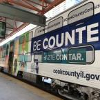 Census Metra train