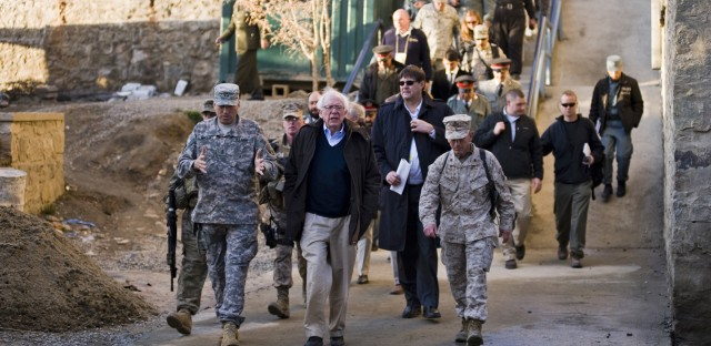 Sen. Bernie Sanders visited Afghanistan in 2011 as part of a delegation.