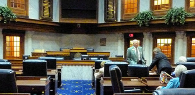 Indiana religious bill inches forward