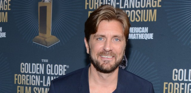 Director Ruben Östlund arrives at Golden Globes Foreign Language Symposium at Egyptian Theatre on Saturday, January 10, 2015, in Hollywood, California.