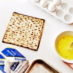 To make matzo brei, crumble leftover matzo, soak it, drain it and beat it with an egg or two. Then, fry it up, scrambled or omelet-style.