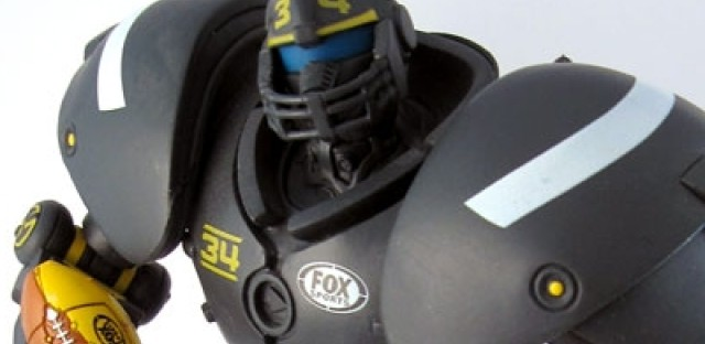 The secret life of Cleatus the FOX Sports robot