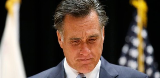 Mitt Romney stands by his comments on the 'secret video' in a press conference Monday night.