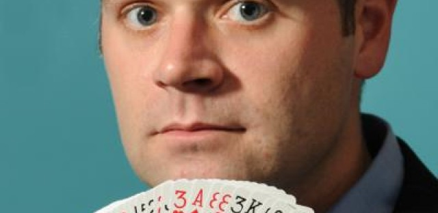 Chicago magician Dennis Watkins will perform Houdini's famous underwater escape in House Theater's upcoming show.