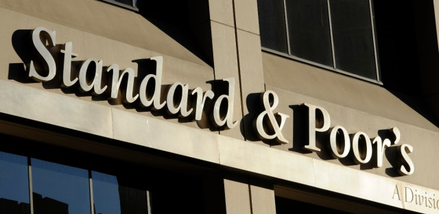 The Standard & Poor's rating agency in New York on Oct. 9, 2011.