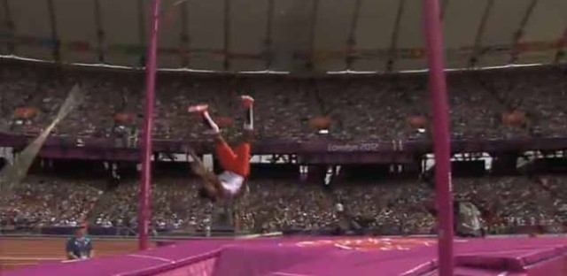 If your pole breaks during a pole vault, do you get a do-over?