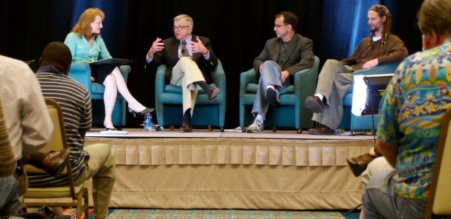On Being : Chuck Colson, Greg Boyd, and Shane Claiborne  — How to Be a Christian Citizen: Three Evangelicals Debate Image