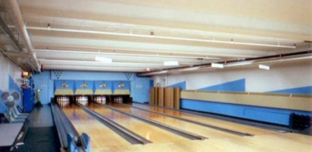 Bowling alleys at St. John's Lutheran Church