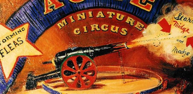 Roger Bonair-Agard's flea circus