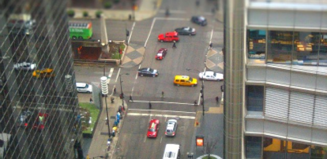 Video: Sarah Jindra gives bird's eye view of Wacker Drive traffic