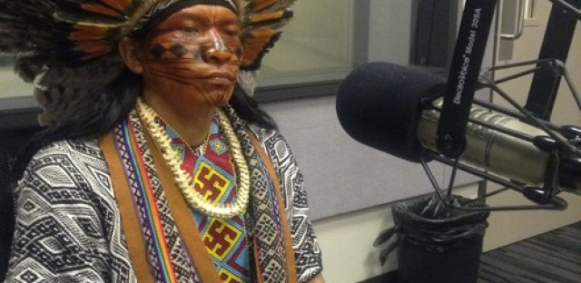 Indigenous filmmaker explores issues of Brazil's indigenous community in new documentary