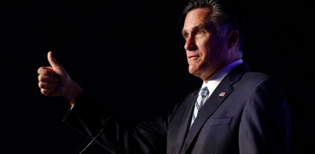 GOP presidential candidate and motormouth, Mitt Romney