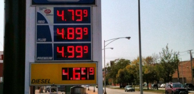 As Hurricane Isaac cuts off supply, Chicago gas prices climb higher