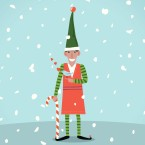 "This year marks the 25th anniversary since David Sedaris' ""Santaland Diaries"" first aired on Morning Edition."