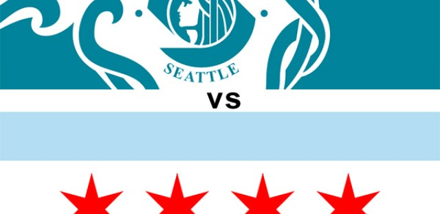 Seattle vs. Chicago: Local commercials