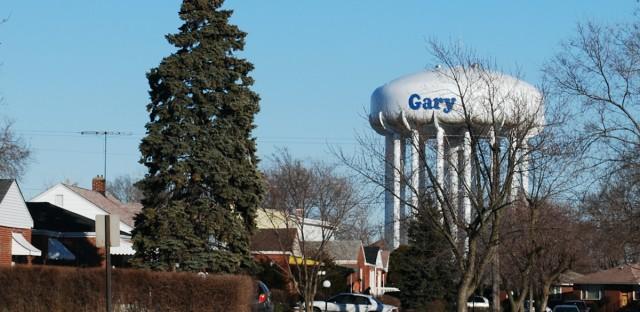 Gary Indiana Watertower