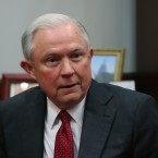 Sen. Jeff Sessions, R-Ala., attends a meeting on Capitol Hill on Nov. 29, 2016. President-elect Donald Trump says he plans to nominate Sessions as U.S. attorney general.