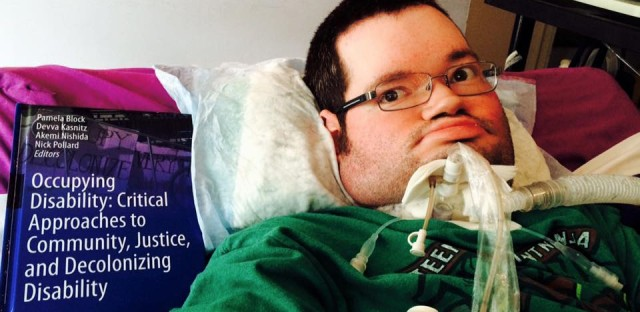 A chapter Dupree wrote about his life and struggles was included in a disability rights anthology.