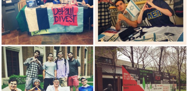 DePaul votes on Israel issue and a look back at the opening of the Eiffel Tower