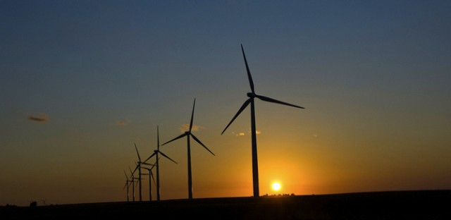 Renewable energy could benefit from a resurgence in the Chicago region's manufacturing sector. (Duane Rapp via Flickr)