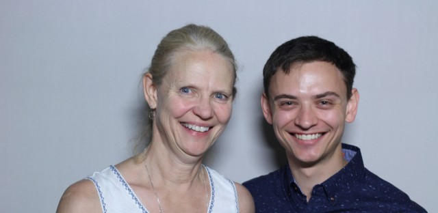 Marla Wendel and her son, Daniel, came to the StoryCorps booth in Chicago.