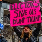 Plenty of Trump opponents are begging electors to vote against Trump. But it's hard to see that effort being very successful.