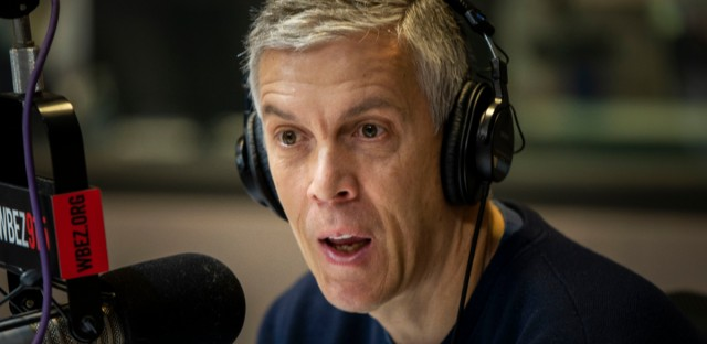 Former U.S. Education Secretary Arne Duncan stops by the 'Morning Shift' to talk about his group Chicago CRED and their approach to violence prevention in Chicago.