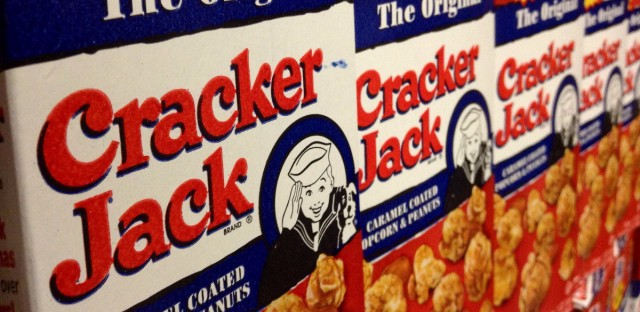 You're going to have to work a little harder to get your Cracker Jack prize.
