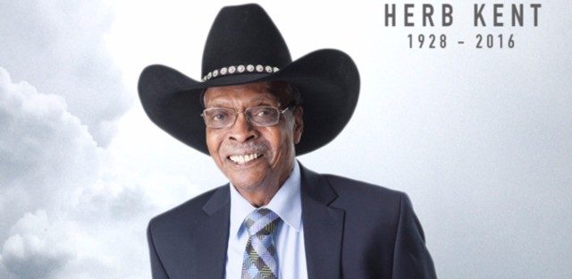 DJ legend Herb Kent died Saturday and services are pending, according to iHeartMedia's V103, the radio station where Kent worked.