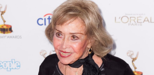 Now Here's Something We Hope You'll Really Like: An appreciation of the late June Foray, voice of Rocky the Flying Squirrel and many others, shown here arriving at an Oscars reception in 2013.