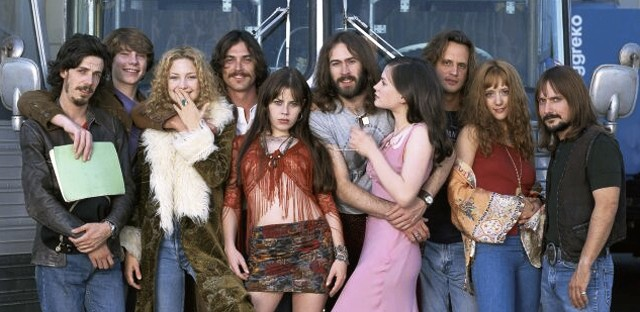 "The rock stars and Band Aids of ""Almost Famous."""
