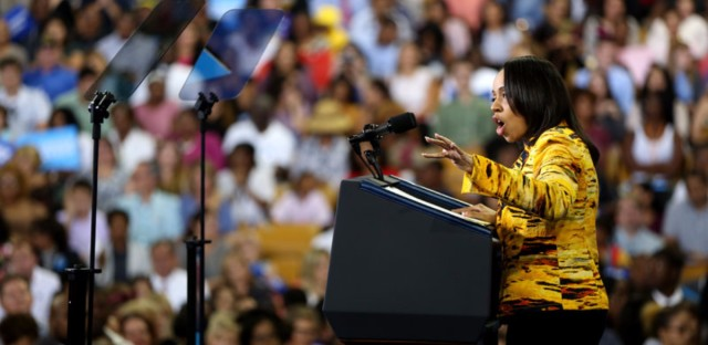 State's attorney candidate Aramis Ayala speaks at a campaign rally for Hillary Clinton in Orlando, Fla., on Oct. 28.