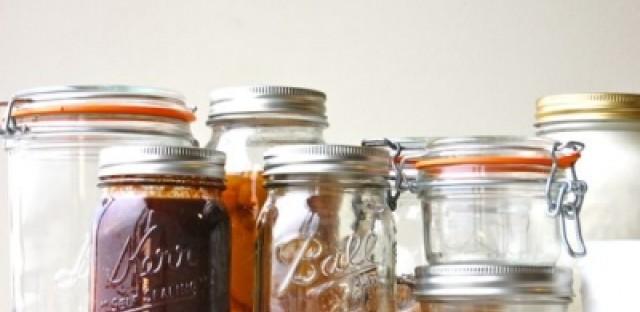 Canning jar etiquette