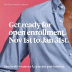 Health insurance company Oscar has started its own ad campaign for the Affordable Care Act. These enrollment dates apply to New York state; the dates to enroll in federally run exchanges are Nov. 1 to Dec. 15. Oscar Health