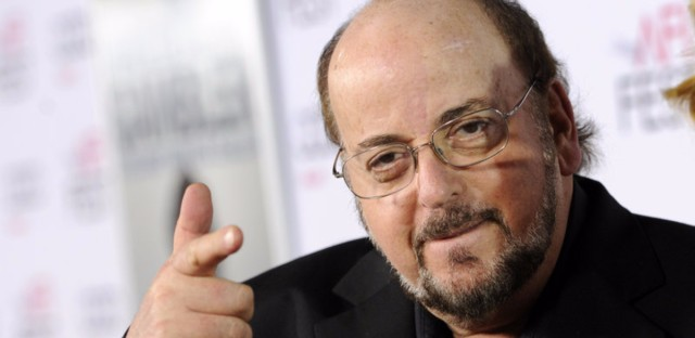 James Toback, writer of the 1991 film Bugsy, poses at the premiere of a re-make of his movie The Gambler in 2014 in Los Angeles.